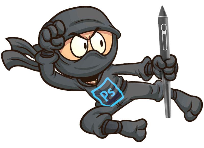 Becoming A Photoshop Ninja
